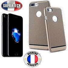 Coque Arrière de Protection Or Perforée Nid d'Abeille pour Apple iPhone 7 Plus