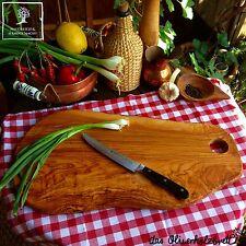 Servierbrett Servierplatte Schneidebrett Schneidbrett Olivenholz Holz Brett 50cm