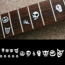 Fretmarkers Skull Masks Fret Markers Inlay Sticker Decal Guitar