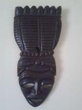 Vintage - African mask of ebony - Maska afrykańska z hebanu