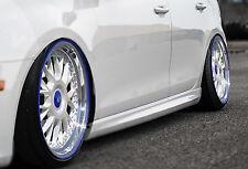 RLD Seitenschweller Schweller Sideskirts ABS für Opel Corsa D
