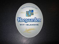 HOEGAARDEN Belgian Wheat hoegarden Oval STICKER decal craft beer brewing brewery