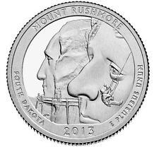 USA: 1/4 dolar 2013 D  Mount Rushmore  Quarter South Dakota - Nº 20 Parques Nat.