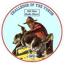 Sargent Preston - Challenge of the Yukon - 630 Old Time Radio Shows mp3 DVD