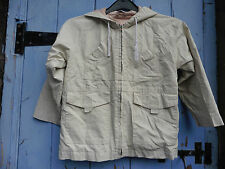 Girls Jacket age 4-5, Cream, lined. George at Asda.Ok cond, good for playing in