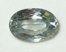 .69ct Valuable Light Silvery Steel Blue Montana Sapphire Oval Cut 6x4mm SPECIAL