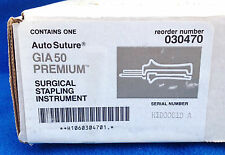Auto Suture GIA 50 Premium Surgical Stapling Instrument - Model 030470 - NEW
