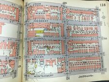 1929 BELCHER HYDE 101ST ARMORY PS 161 CROWN HEIGHTS BROOKLYN NEW YORK ATLAS MAP