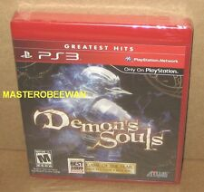 PS3 Demon's Souls + Soundtrack Bundle New Sealed (Sony PlayStation 3, 2009)