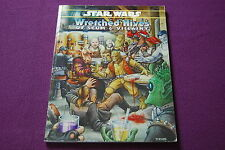 STAR WARS D6 RPG JDR Jeu de Role - Wretched Hives of Scum & Villainy