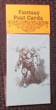 1974 Fantasy 8 Post Cards 5x7 NM FRAZETTA Jeff Jones Harper Nally Thompson