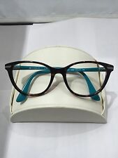 VOGUE EYEGLASSES FRAME VO2937 2393 DARK HAVANA ON BLUE 51-17-140 NEW