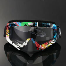 Motorcycle Motocross Goggles Glasses MX ATV Dirt Bike Racing Off Road Clear Lens