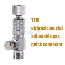 "1pc Airbrush Quick Release Disconnect 1/8"" Plug Adapter Kit Fitting Air Hose"