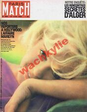 Paris Match n°689 du 23/06/1962 Marilyn Monroe Alger