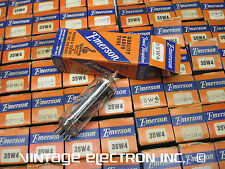 NOS 35W4 Tubes - EMERSON (Mfr'd by TUNG-SOL) - USA -1950's ($6.95/ea, AA5)