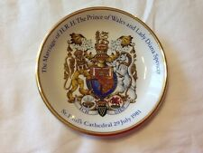 ROYAL PLATE MARRIAGE H.R.H PRINCE WALES & LADY DIANA SPENCER  29th JULY 1981