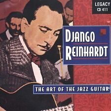 Art of Jazz Guitar by Django Reinhardt (CD, Aug-1996, Legacy)
