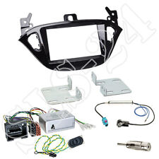 OPEL Adam S-D Doppel-DIN Blende + Becker Radio CAN-Bus Lenkradinterface +Antenne