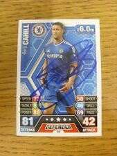 2013/2014 Autograph: Chelsea - Cahill, Gary [Hand Signed 'Topps Match Attax' Tra