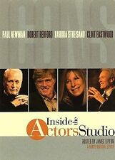 INSIDE THE ACTORS STUDIO ICONS 3 DISC BOXSET NEWMAN REDFORD STREISAND EASTWOOD!!