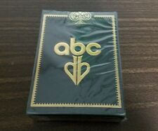 ABC Gold Playing Cards by David Blaine- VERY RARE