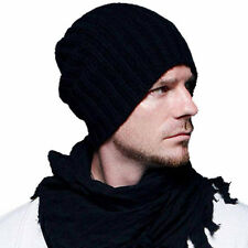 Fashion Unisex Men Women Boy Hip-Hop Warm Winter Wool Knit Ski Beanie Skull Cap