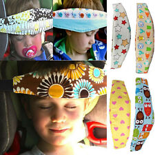 Safety Kids Stroller Car Seat Sleep Head Support Holder Belt Cover Pillows 1#