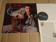 JON GIBSON - CHANGE OF HEART - LP - FRONTLINE R 09032 - USA 1988