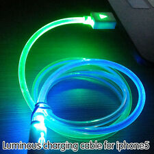 10X LOT led LIGHT  Cable Charging Cord compatible with iPhone 6 Plus 5 5S 5C