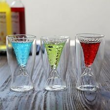 Crystal Mermaid Creative Cup Glass Mug Novelty Vodka Shot Drinking Bar Party Cup