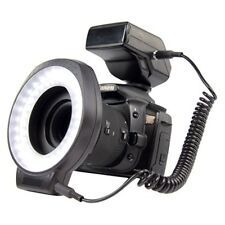 FLASH PHOTO PROJECTEUR ANNULAIRE 60 LED UNIVERSELLE 6 BAGUES 52/55/58/62/67/72