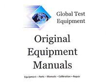 Tektronix 070-1430-01 - SG 502 Instruction Manual