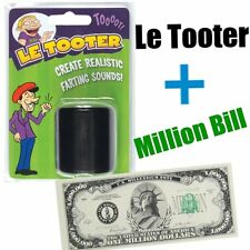 LE TOOTER  - Poop poo fart Pooter + 1 MILLION BILL