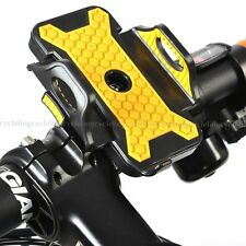 LETDOOO Cycling Bike Bicycle Phone Holder Black Yellow Plus Size New