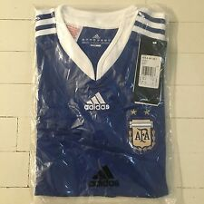 Adidas ARGENTINA Youth M Medium NEW Official Replica Jersey Blue