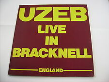 UZEB - LIVE IN BRACKNELL - LP VINYL EXCELLENT CONDITION 1984