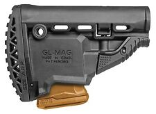 GL-MAG ARP FAB Defense Black Butt Stock w/ 5.56/223 Magazine Carrier IDF
