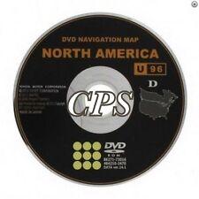 Only 2011 2012 2013 Toyota Highlander & Hybrid Navigation DVD U96 Map U.S Canada