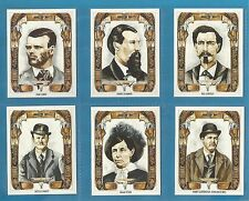 Cigarette/trade Cards - WILD WEST OUTLAWS - Full mint condition set.
