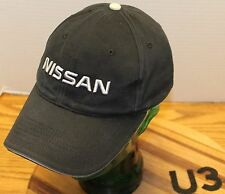 VERY NICE NISSAN TRUCKS CARS HAT BLACK ADJUSTABLE VERY GOOD CONDITION