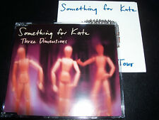 Something For Kate Three Dimensions 4 Track CD Single with limited Sticker