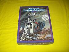 CASTLES BOX SET DUNGEONS & DRAGONS AD&D 2ND EDITION TSR 1056 -1 COMPLETE