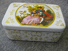 "Collectors Tin, 6 1/2"" x 4"" x 2.75"", Vintage Scene"