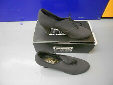 "Black Nubuck Freed Milano 2"" heel ballroom/latin dance shoes - size  UK 3"