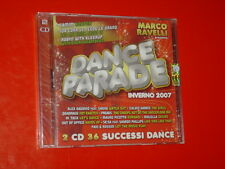 DANCE PARADE INVERNO 2007 ARTISTI VARI-2CD 36 TRK NEW SEALED MARCO RAVELLI