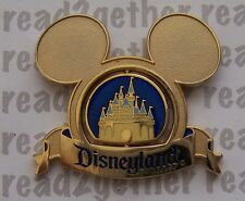 Disney Pin DLR Golden Castle Spinner