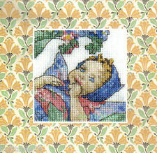 DMC Flower Fairies Mini Cross Stitch Kit  The Forget Me Not Fairy