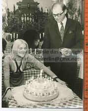 STARS: Peggy MARCH & Chefparfümeur G.WUSTMANN 3 OriginalFotografien - Ingo BARTH