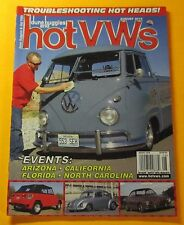 DUNE BUGGIES AND HOT VWs MAGAZINE AUG/2010...TROUBLESHOOTING HOT HEADS